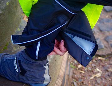 Proviz Nightrider waterproof trousers calf zip