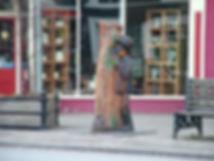 Twm Sion Catti Tregaron statue monument
