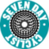 Seven day 7 Cyclist logo
