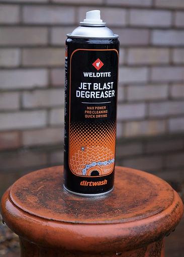 weldtite jet blast degreaser can aerosol