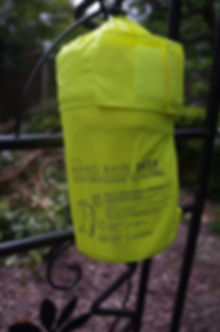 packed sac bag waterproof hiviz