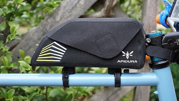 bicycle luggage bike packing tank top tube bag