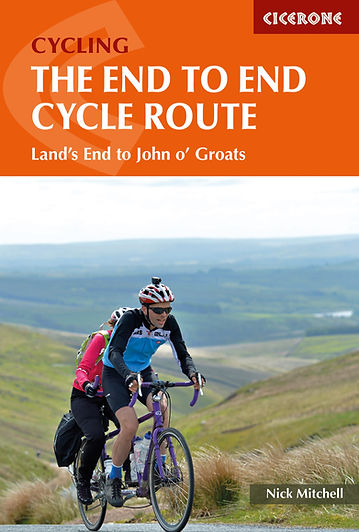 Cicerone Cycling The End to End Cycle Route Lands End John o' Groats LeJog Nicholas Mitchell