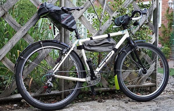 Bikepacking cycle bike luggage