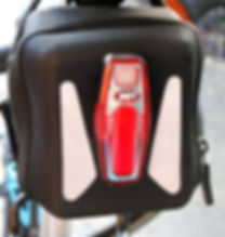 Night Rider Sabre bicycle rear light