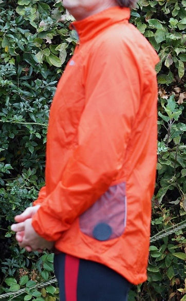 Polaris Challenge Pioneer Windproof cycling jacket sideview pocket