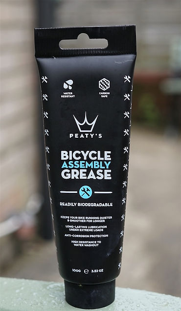 bicycle bike cycle assembly grease maintenance