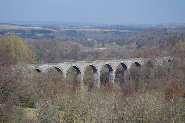 Lambley viaduct South Tynedale River Tyne Cumbria NCR68