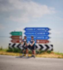 Ferrara Ravenna cyclist