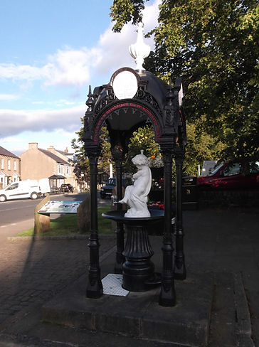Middleton-in-Teesdale, Teesdale, County Durham, water fountain