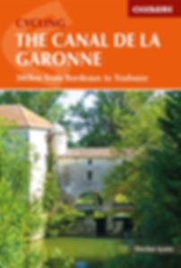 Cicerone caal Garonne France guide cycling bicycle