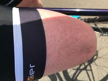 cycling shorts leg gripper cyclist hem