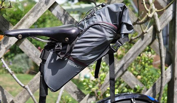 passport bike packing bag seat pack luggage