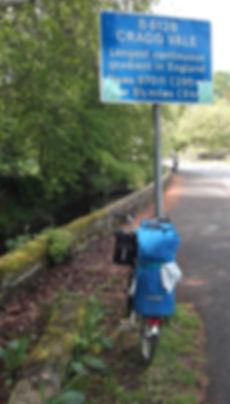 Cragg Vale West Yorkshire sign