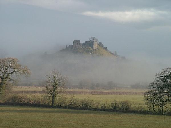 castle mist tywi dryslwyn
