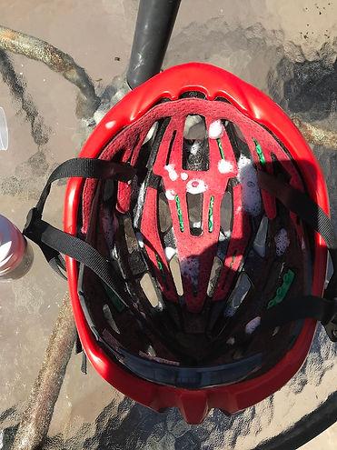bicycle bike helmet cleaner sanitiser