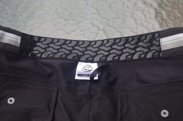 shorts cycle sports wear waistband showers pass