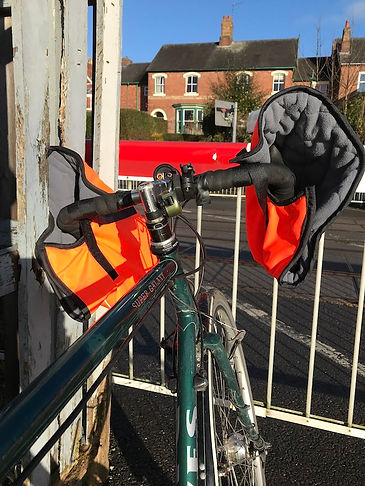 quilted gloves bike cycling bicycle