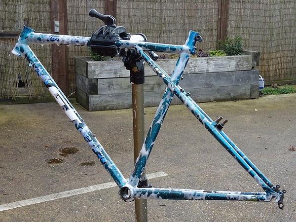 frame bike bicycle wash