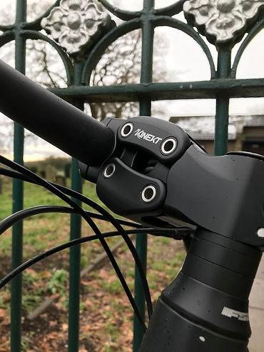 bicycle bike suspension stem steering kinekt