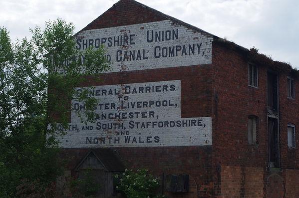 Ellesmere, wharf, Shropshire,Union, warehouse, canal