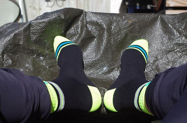 DexShell waterproof socks cycling feet shoes