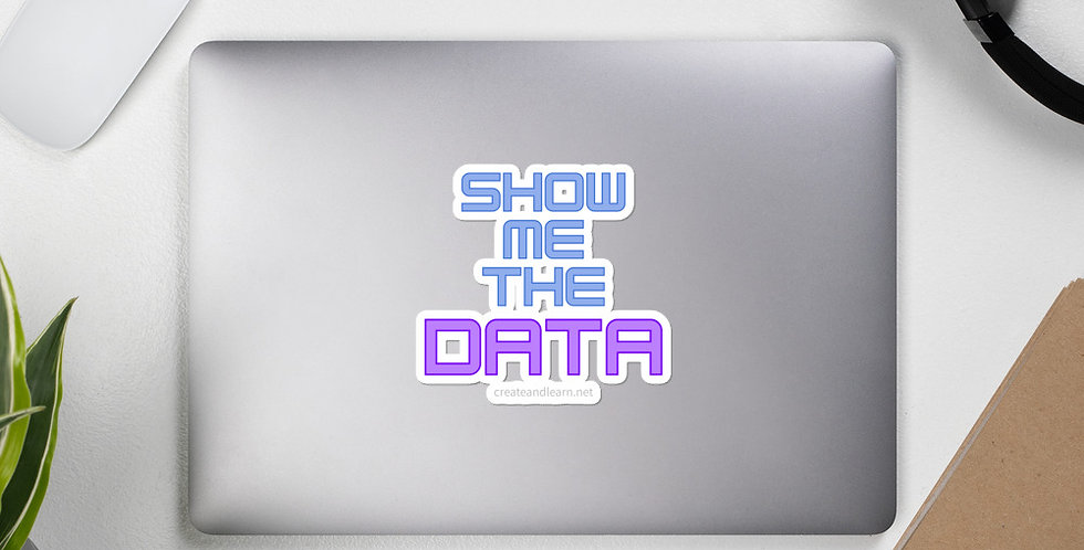 Bubble-free stickers - Show me the data