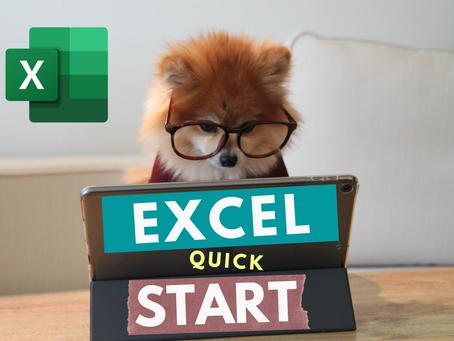 #1 Microsoft Excel Quick Start