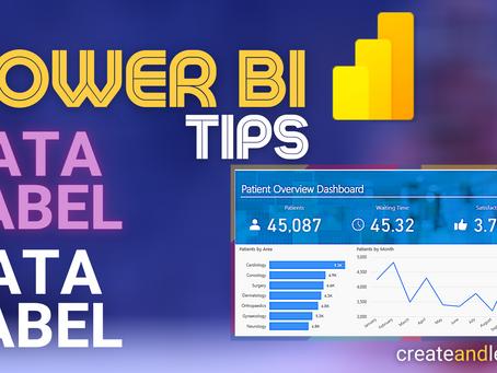 Power BI Tips - Data Labels