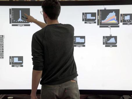 Drag-and-drop data analytics