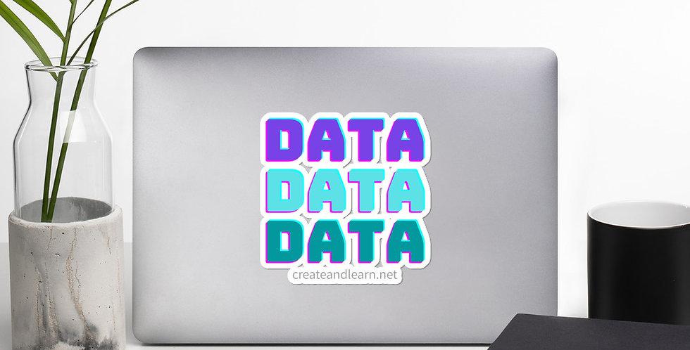 Bubble-free stickers - Data