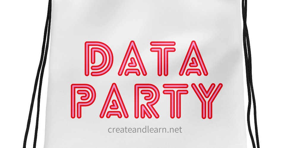 Drawstring bag - Data Party