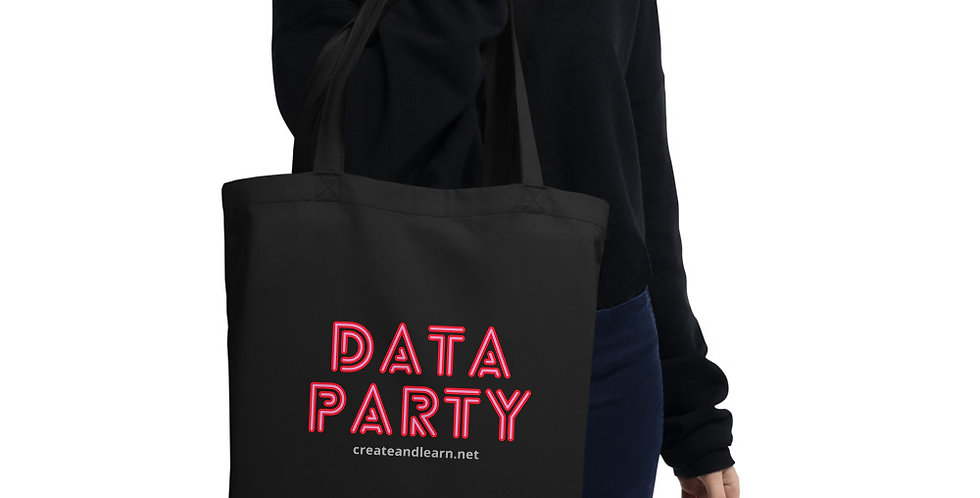 Eco Tote Bag - Data Party