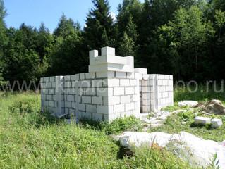 Блоки для детского комплекса с башенками.