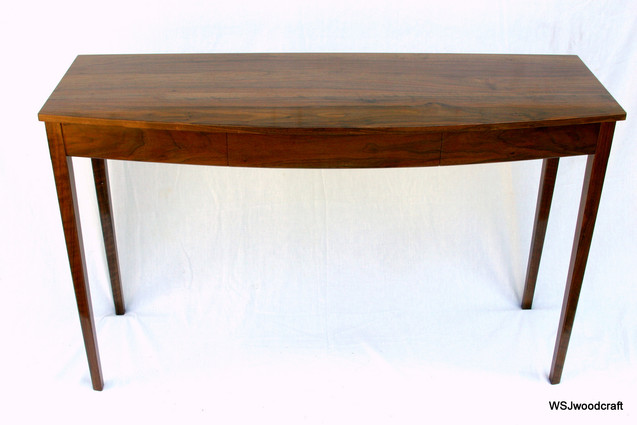 Bow-Front Table, Cherry