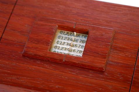 Lock Box - Combination Detail