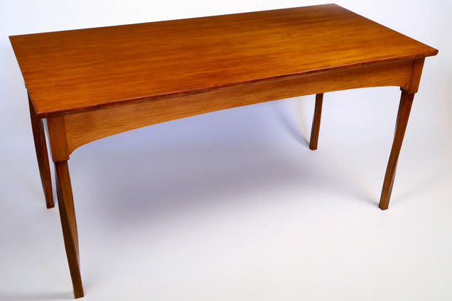 Library Table, Reclaimed Heart Pine