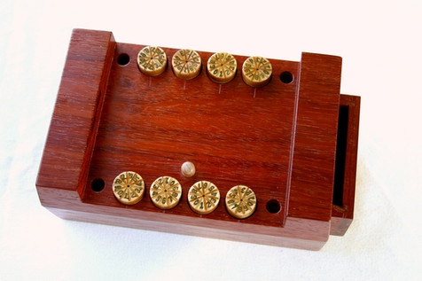 Lock Box - Dials set, Drawer opens
