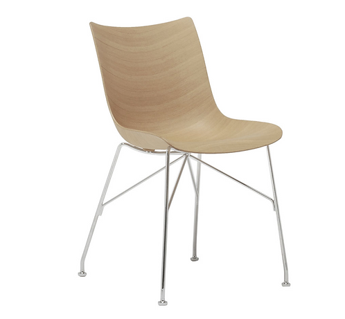 chaise P/Wood - hêtre - Kartell