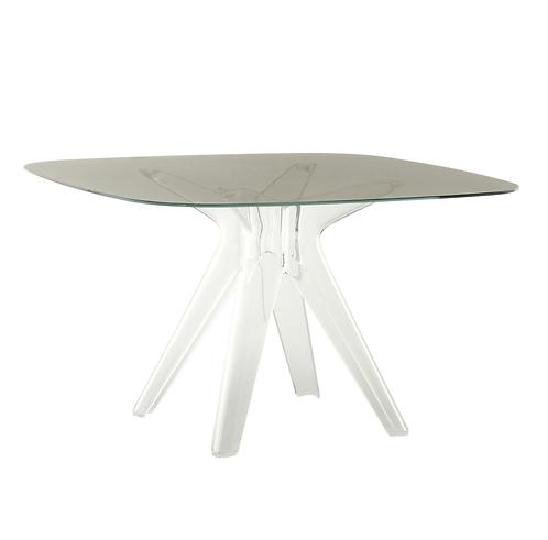 Table carré Sir Gio - Verre 120x120cm Kartell