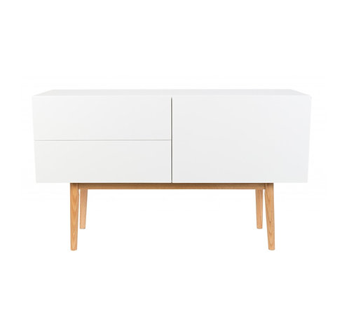 Buffet White Lilly ZUIVER small