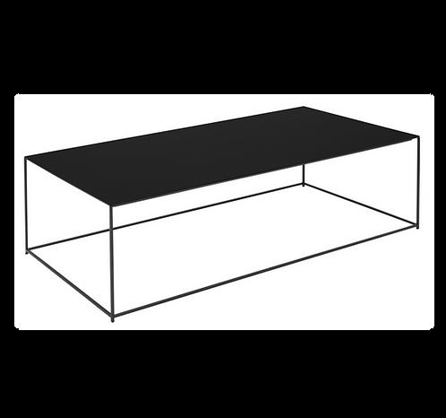 Table basse Slim Irony / 124 x 62 x H 34 cm- Zeus