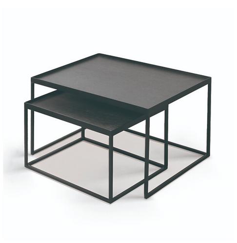 Ethnicraft set de tables rectangulaires
