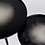 Thumbnail: ZUIVER tables basses Duo Moon black