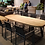 Thumbnail: Table elipse teck massif MARGARITE