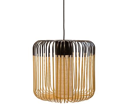 Bamboo Light Medium BLACK / H 40 x Ø 45 cm - Forestier