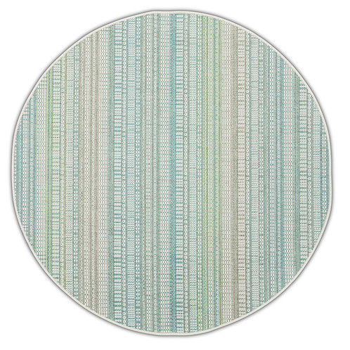 Tapis Roolf - Zulu Lime Round