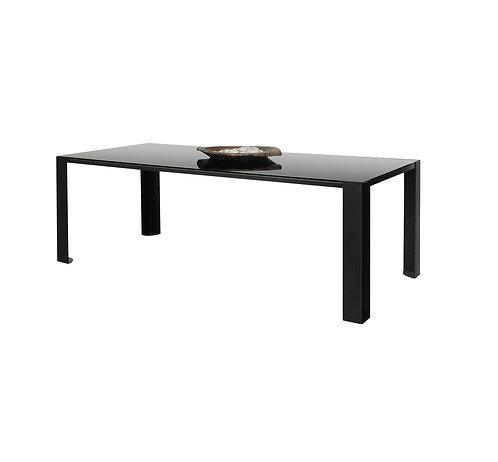 Table Big Irony Black Glass / Verre - L 200 cm - Zeus