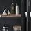 Thumbnail: Hübsch - vaisellier armoire métal noir