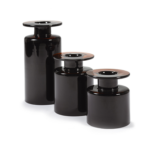Serax - Vases WIND&FIRE Black Dark Brown